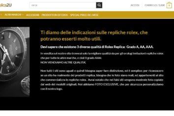 Rolex-replica2u finalmente un sito di rolex replica affidabile. Scoprite perche'.