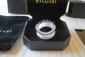 Perfetto anello replica bulgari Bzero1 grazie