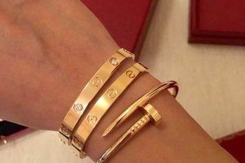 Cartier replica bracciale love in oro eccezionale