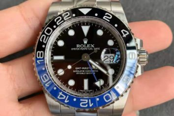 Bellissimo orologio rolex replica GMT master II ref. 116710BLNR