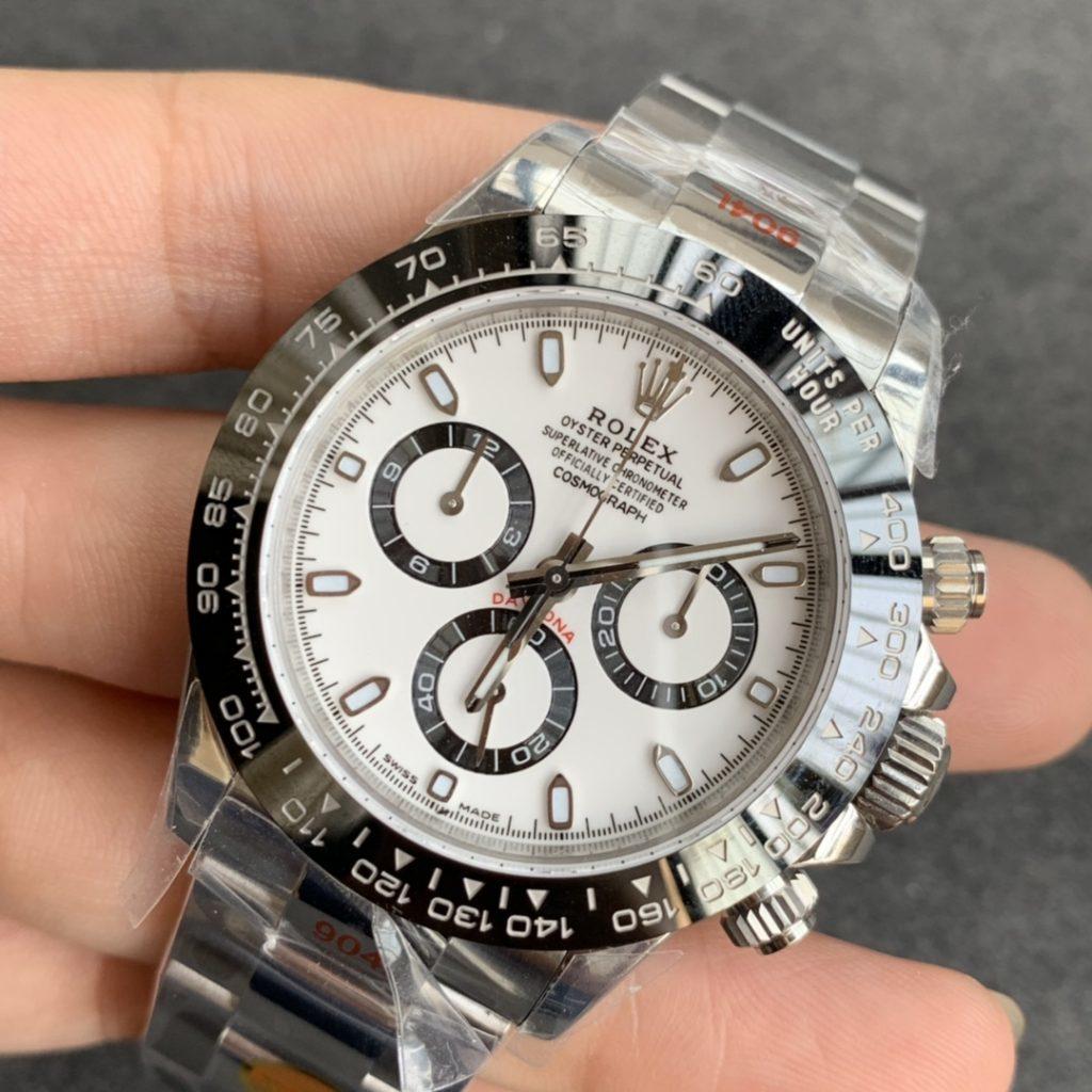 Rolex replica daytona 116500LN white dial
